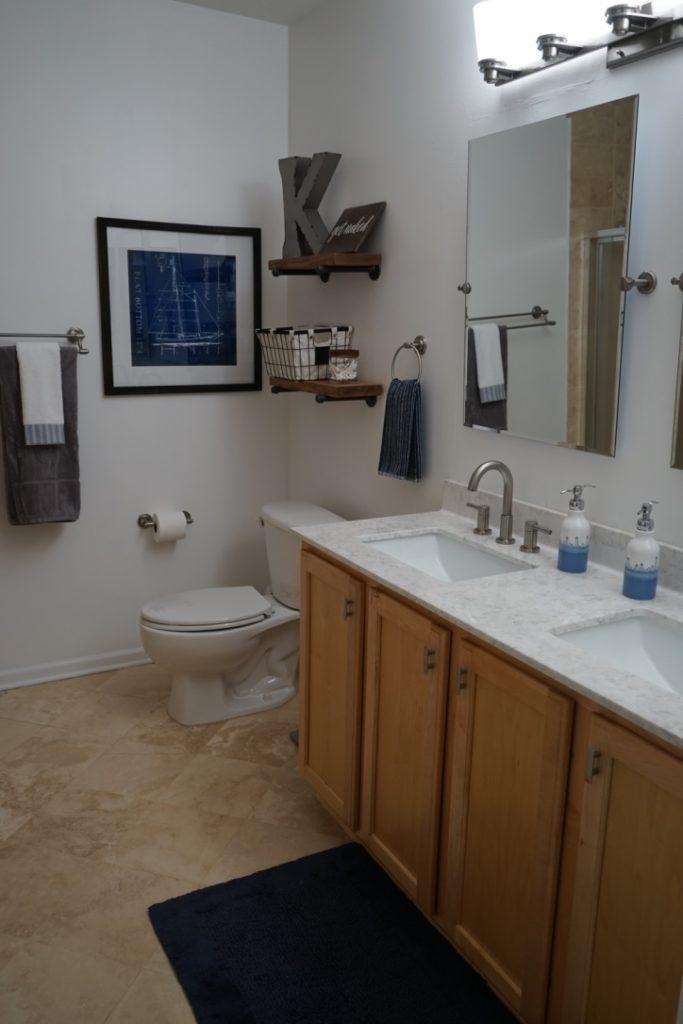 (Mostly) D.I.Y. Bathroom Remodel